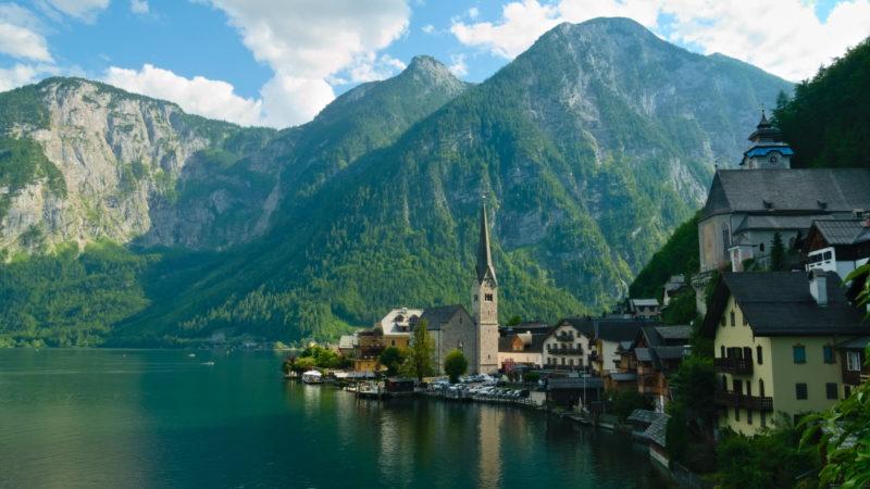 Hallstatt, la carte postale de l'Autriche
